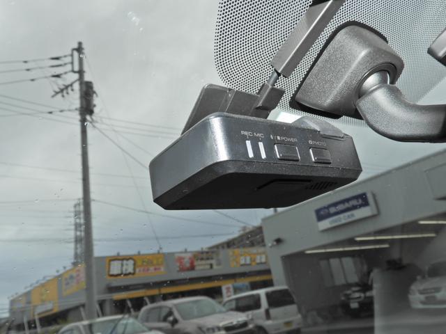今や必需品になりつつあるドライブレコーダーも装備。万が一の時に役立ちます!