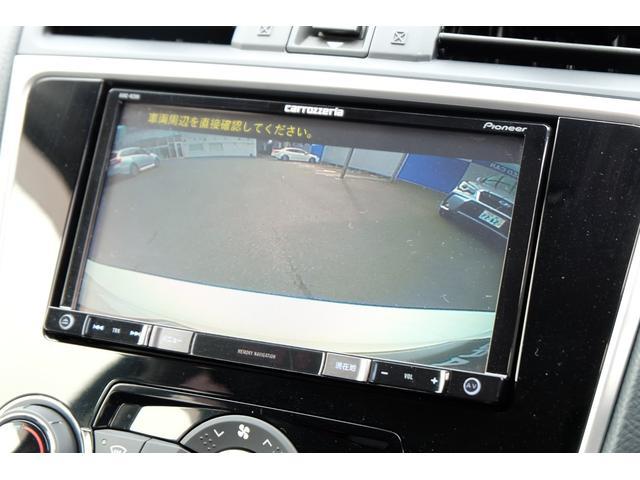 後方の安全確認も安心!車庫入時のストレスもこれで解決です。