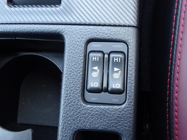 全席シートヒター装備で、寒い時期には欠かせない装備です。