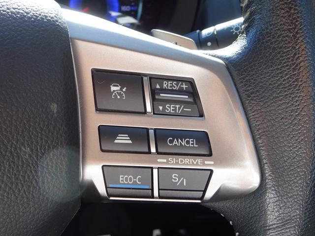 ☆アイサイトの操作スイッチはステアリング右側に付いています!運転に集中できて安心です♪