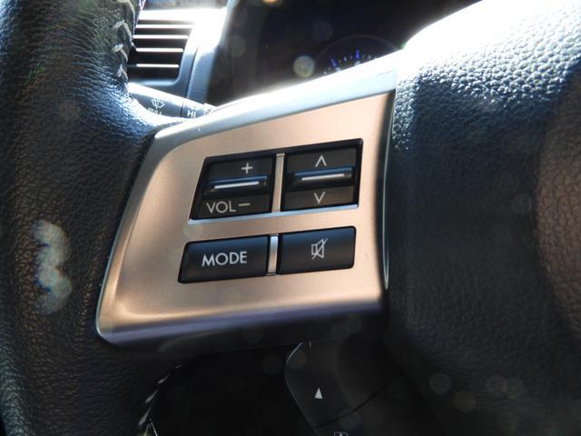 オーディオ操作もハンドルから手を離さず行えて安全!