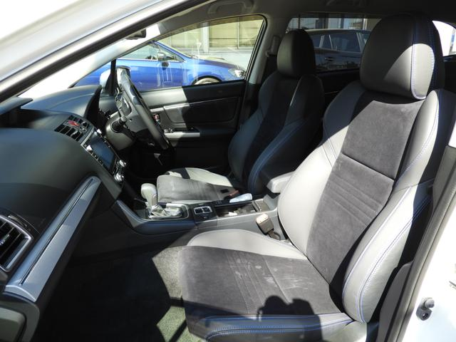 シートポジションを細かく設定出来て、長時間のドライブも楽々のフロントシート!