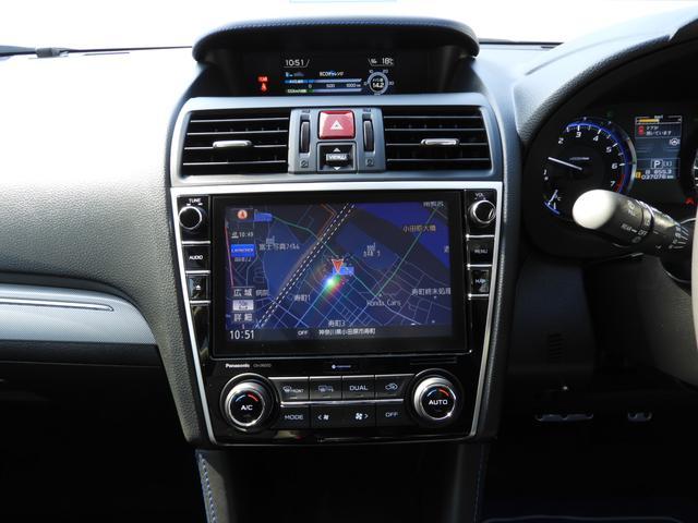 スバルディーラーオプションで人気のビルトインSDナビ装備◆近場のお出かけにもロングドライブにも!あるとやっぱり心強いナビゲーション♪取付位置も視線の移動量が少なく運転の邪魔になりません!