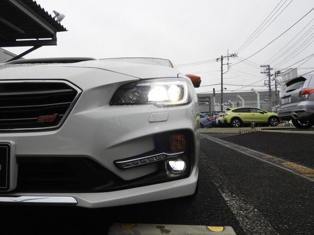 フォグランプ付で霧時の走行も視界確保で安心