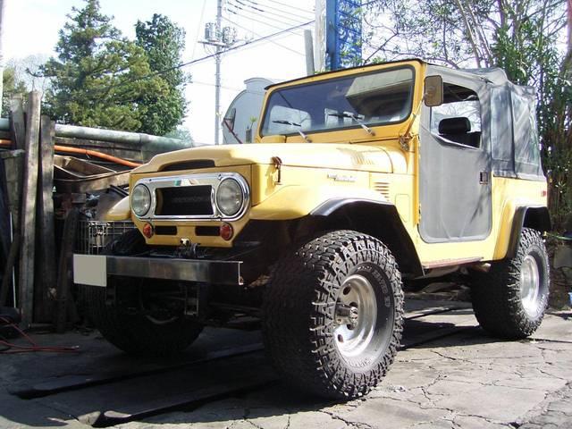 FJ40 V8 左H リフトアップ