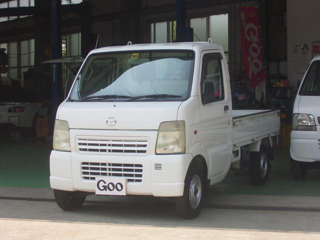 マツダ KCスペシャル 4WD エアコン パワステ 5速マニュアル車