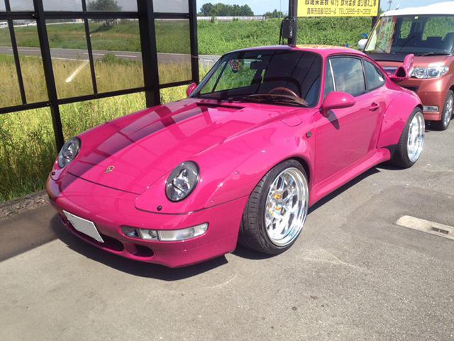 911カレラ フル装備 オートマチック クーペ ピンク