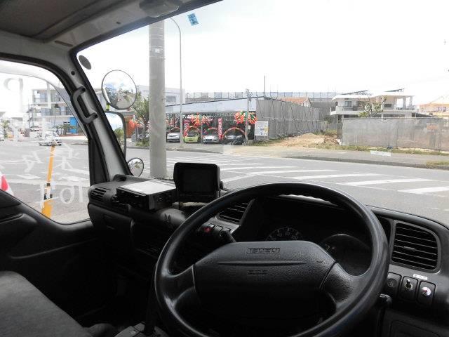いすゞ エルフトラック パネルバン LPGガス