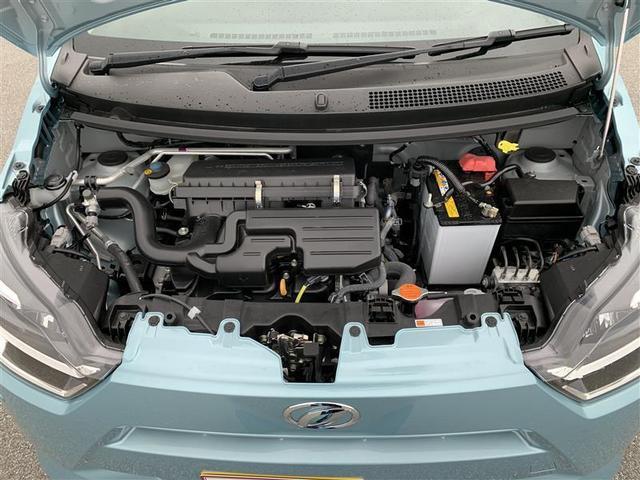 排気量660CC ガソリン・エンジンルーム