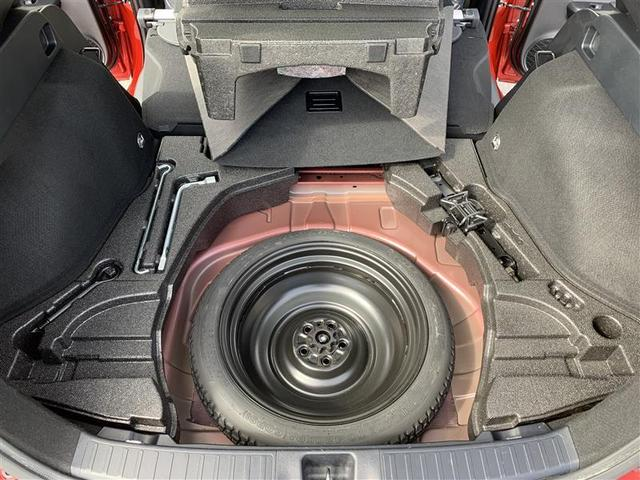 応急タイヤ・車載工具を装備してます。