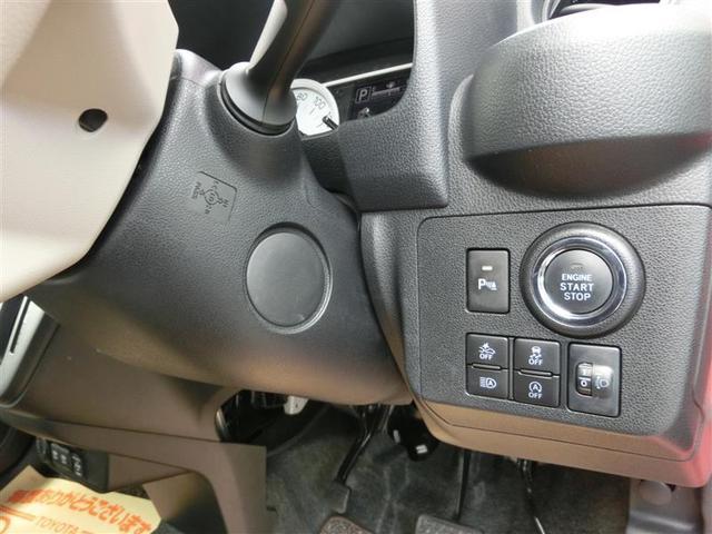 プッシュスタート式/コーナセンサーOFFスイッチ下/スマートアシストスイッチ 左下/オートハイビームスイッチ 中上/VSCスイッチ 中下/アイドルストップスイッチ 右/ヘッドライトレベルスイッチ