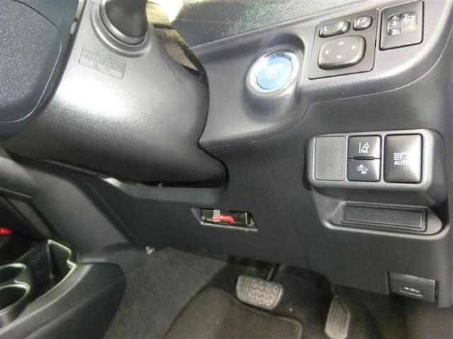 エンジンプッシュスタート式 ドアミラー調整スイッチ ヘッドライト光軸調整ダイヤル 左下/プリクラッシュセーフテイースイッチ 左下/車線逸脱警報機能ON・OFFスイッチ 右/オートハイビームスイッチ