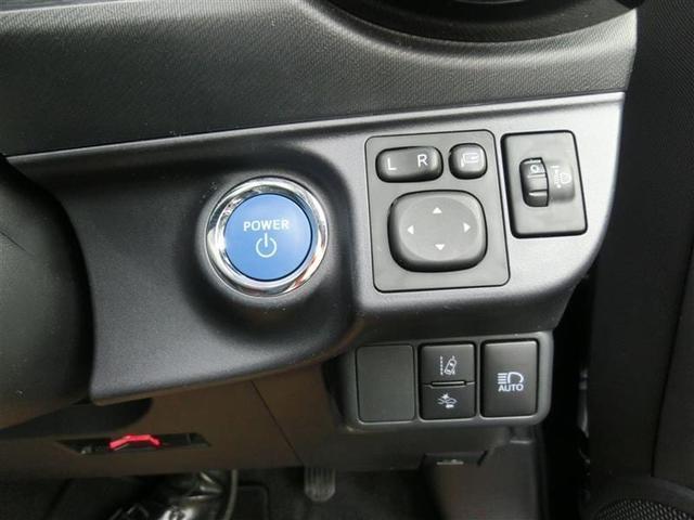 エンジンプッシュスタート式 右/ドアミラー調整スイッチ 左下/衝突警報機能・衝突回避支援ブレーキ機能・誤発進抑制制御機能(前方・後方)オートハイビームスイッチ左下/車線逸脱警報機能ON・OFFスイッチ
