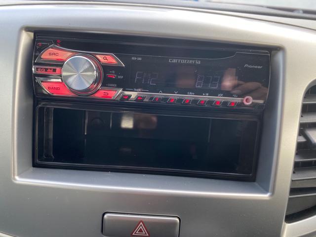 ラジオやCDを聞きながら快適なドライブを!!