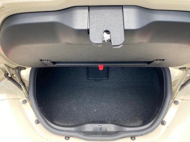 ハッジバックにはスーツケースなど入れられます