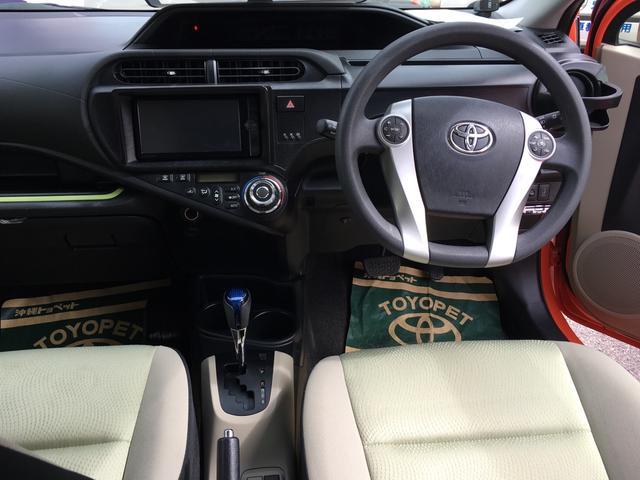 トヨタ アクア S スマートキー ナビTV バックモニター コーナーセンサー
