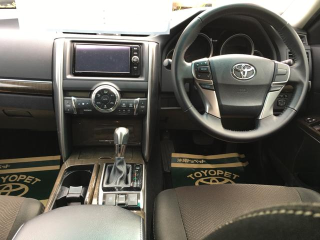 トヨタ マークX 250G スマートキー ナビTV バックカメラ パワーシート