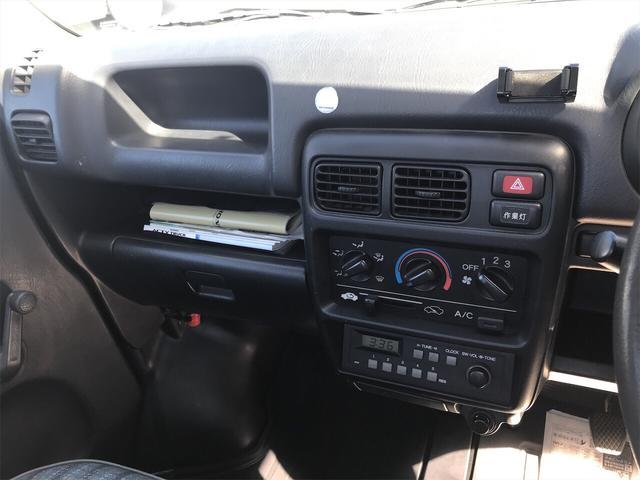 4WD AC MT 軽トラック ホワイト(11枚目)