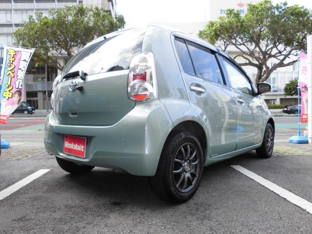 「トヨタ」「パッソ」「コンパクトカー」「沖縄県」の中古車5