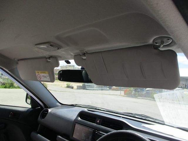 サンバイザー裏にカードホルダーがございます、駐車券などの一時保管に最適♪