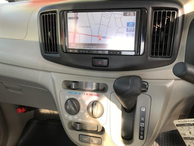 ダイハツ ミライース ナビ TV 軽自動車 インパネCVT 保証付 エアコン