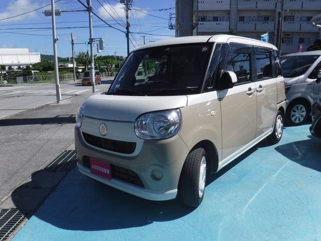 「ダイハツ」「ムーヴキャンバス」「コンパクトカー」「沖縄県」の中古車4