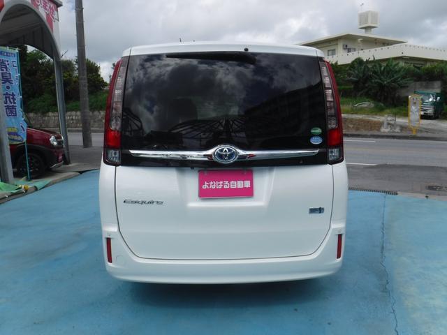 「トヨタ」「エスクァイア」「ミニバン・ワンボックス」「沖縄県」の中古車7