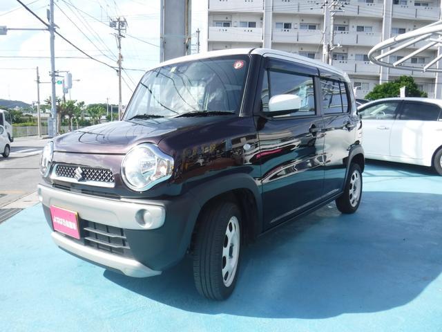 「スズキ」「ハスラー」「コンパクトカー」「沖縄県」の中古車4