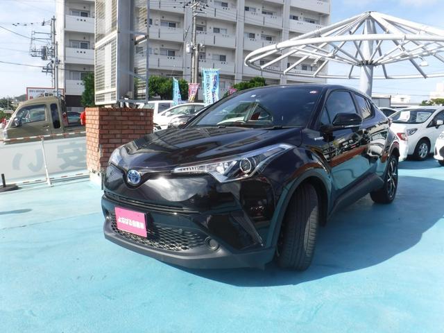 「トヨタ」「C-HR」「SUV・クロカン」「沖縄県」の中古車4