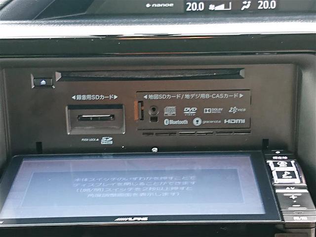 ハイブリッドV フルセグ DVD再生 ミュージックプレイヤー接続可 バックカメラ ETC LEDヘッドランプ 乗車定員7人 3列シート 記録簿(6枚目)