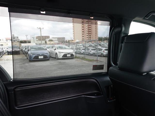 Gi ブラックテーラード 革シート ミュージックプレイヤー接続可 バックカメラ ETC 両側電動スライド LEDヘッドランプ 乗車定員7人 3列シート 記録簿(15枚目)