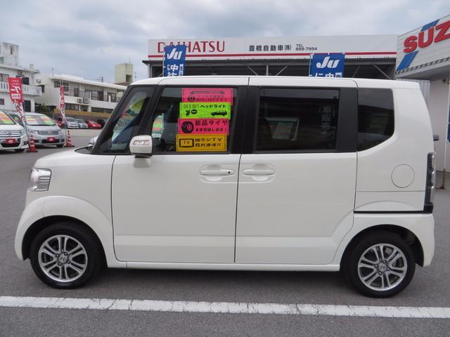 ホンダ N BOX G・Lパッケージ ナビTV・ブルートゥース 新品タイヤ4本付