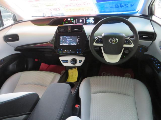 トヨタ プリウス Sセーフティプラス自動ブレーキ ナビTV ブルートゥース付き