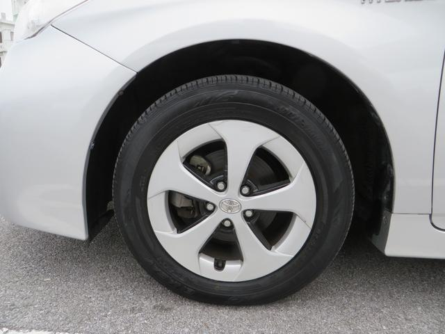 フロント:純正15インチアルミホイール付き! 新品タイヤ4本交換します。