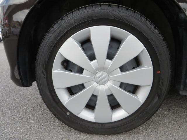 フロント:純正14インチホイール、タイヤは新車時から7千kmしか走ってないので4本ともにバリ山です。