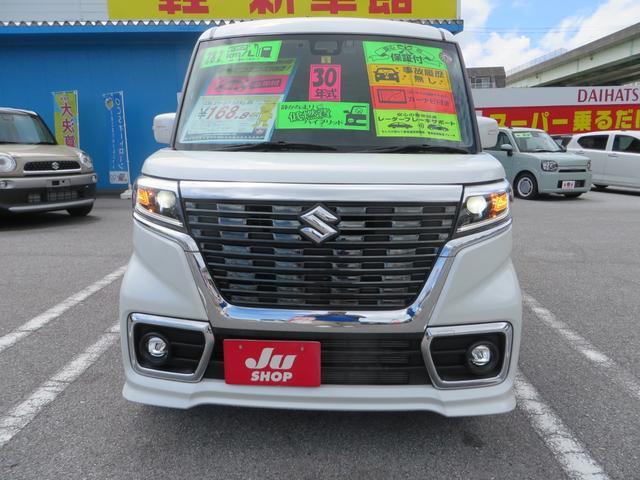 「スズキ」「スペーシアカスタム」「コンパクトカー」「沖縄県」の中古車2