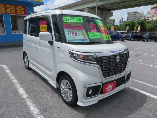 「スズキ」「スペーシアカスタム」「コンパクトカー」「沖縄県」の中古車3