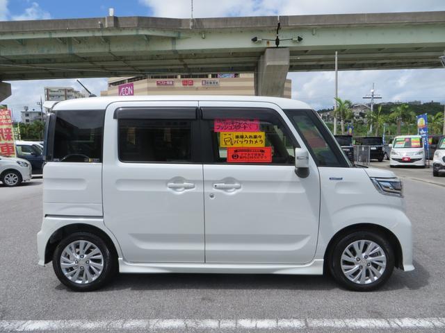 「スズキ」「スペーシアカスタム」「コンパクトカー」「沖縄県」の中古車4