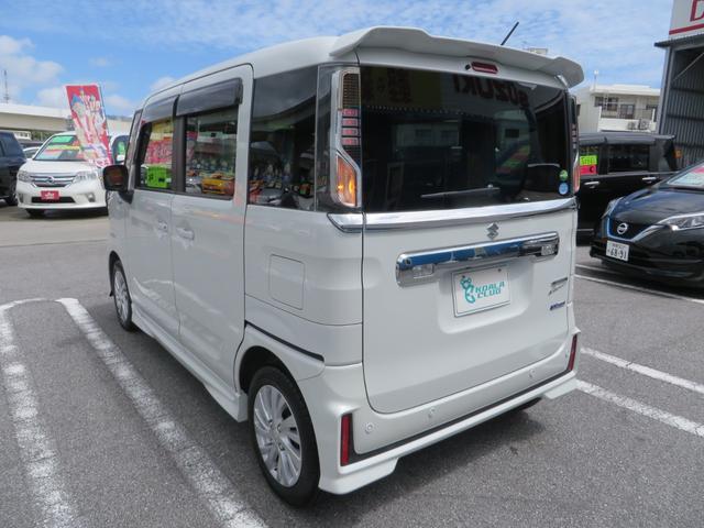 「スズキ」「スペーシアカスタム」「コンパクトカー」「沖縄県」の中古車7