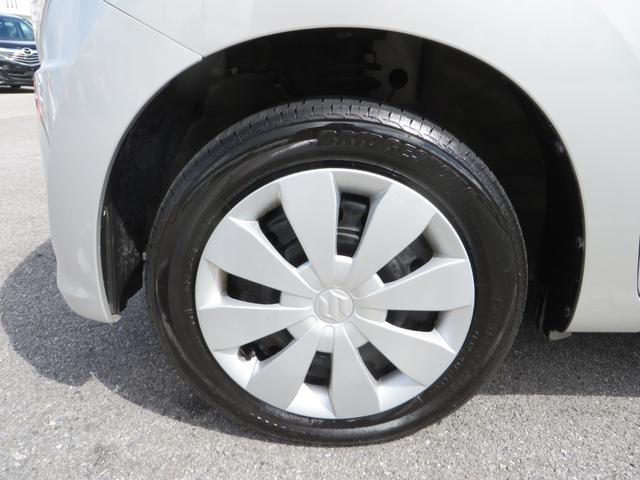 フロント:純正14インチホイールにタイヤは4本ともにブリジストン・ネクストリーのバリ山タイヤ付き