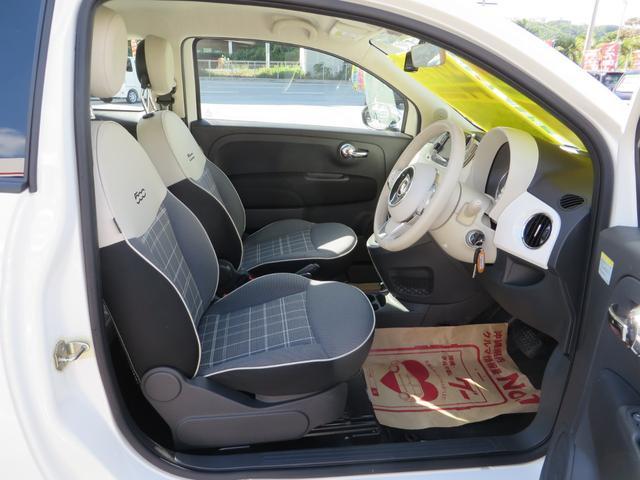 運転席シートより、7エアバック搭載!小さくても安全面に気を配ってます。