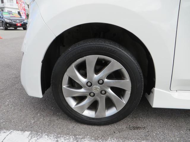 フロント:純正15インチアルミホイール付き、新品タイヤ4本交換します。