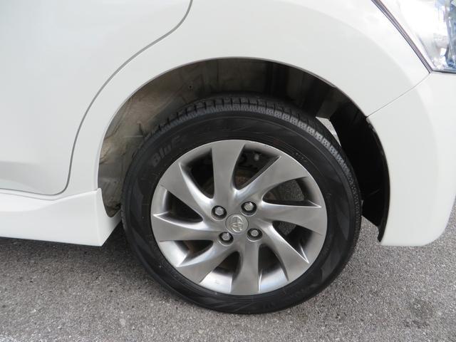 リア:純正15インチアルミホイール付き、新品タイヤ4本交換します。