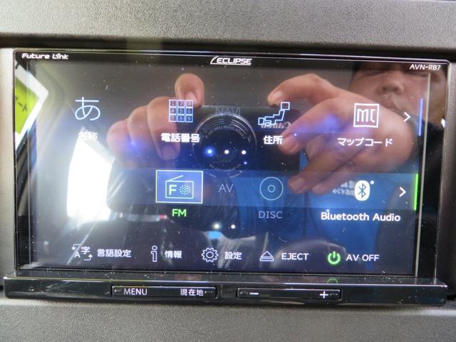 7インチナビ付き!ナビ・CD・DVD・ブルートゥースでの通話・音楽再生・バックカメラ・ETC・ドライブレコーダー搭載のすぐれもの!