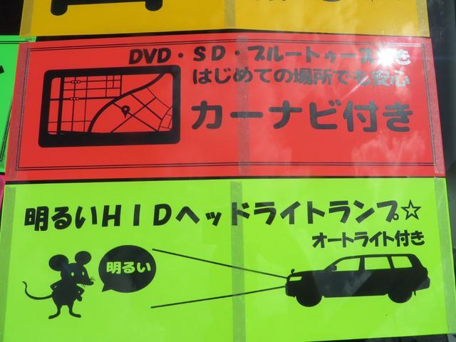 XS HIDヘッドライト&フォグ 両側パワースライドドア ナビ・TV・CD・DVD・ブルートゥース・ETC付き(19枚目)