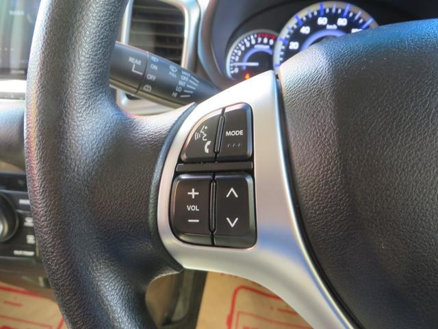運転しながらオーディオ操作が可能で便利。