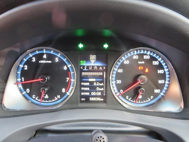 メーターには低燃費運転をアシストするエコインジゲーター付き