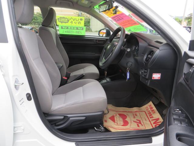 運転席シートより、座面の高さ調整できるシートリフター付き。