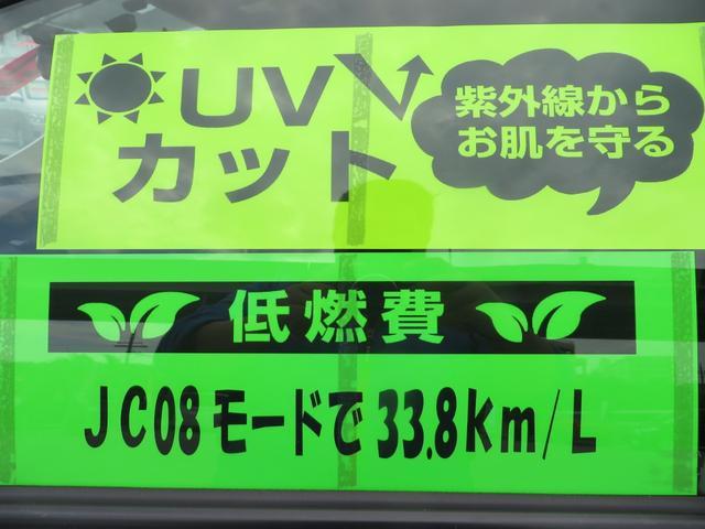 ハイブリッドでJC08モード33.8km/Lの低燃費