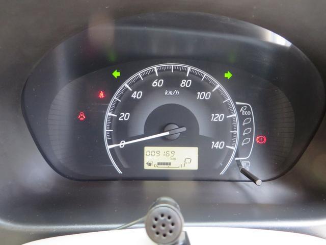 メーター内には低燃費運転をアシストするエコインジゲーター付き